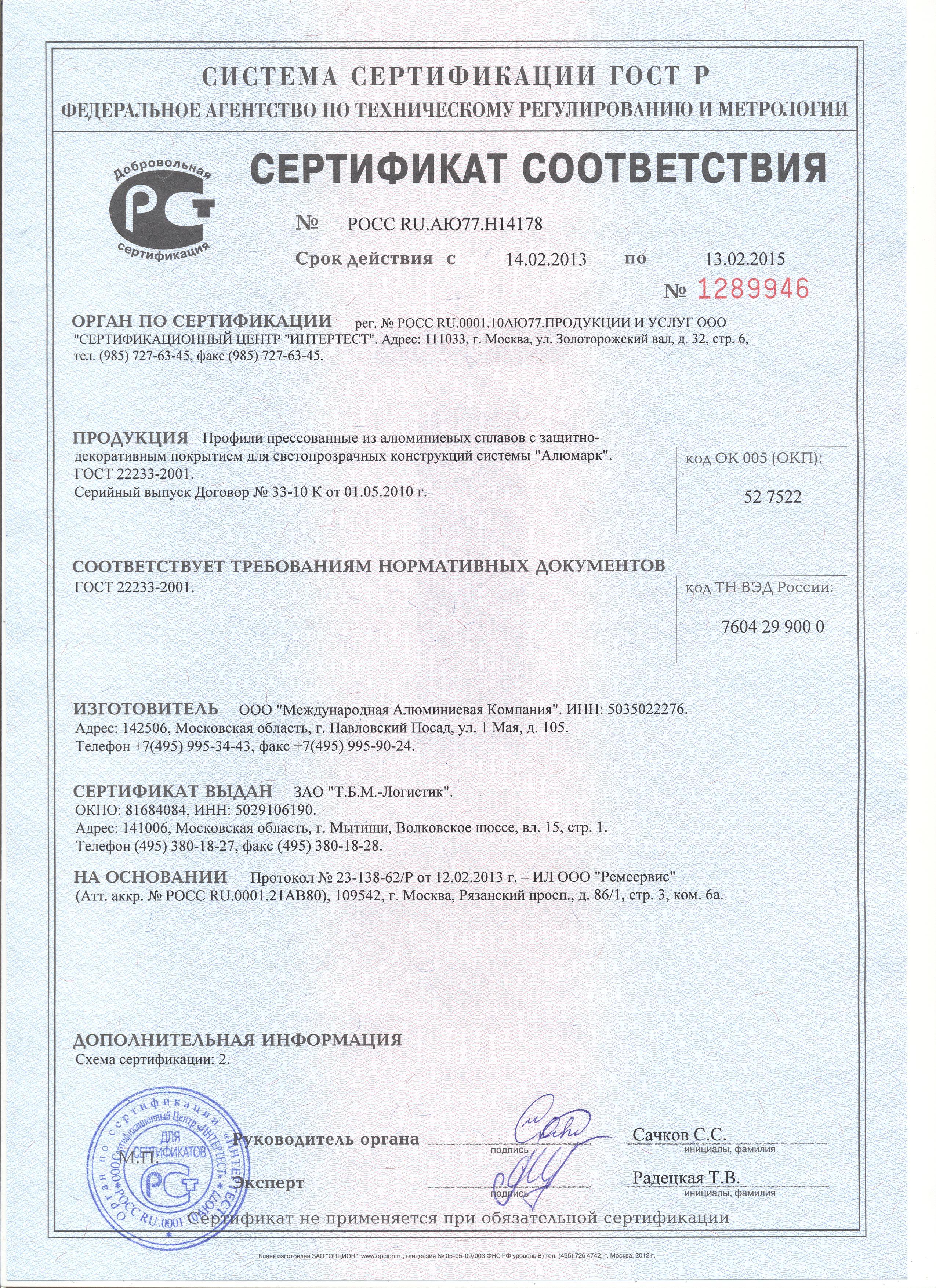 Соц сертификация сертификация средств измерения в россии