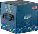 Комплект образцов глянцевых плит LUXE 18*200*200 мм, древесные (10 штук в к-те)