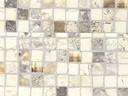 Бортик пристеночный овальный ALPHALUX мозаика крем, 45*25 мм, L=4000 мм