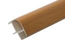 Соединитель 90гр. цоколя ПВХ пластик Бук L=1м FIRMAX